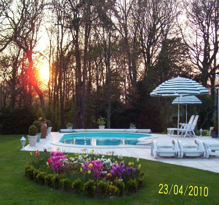 Piscine et soleil couchant - Chambre d hotes nord pas de calais ...